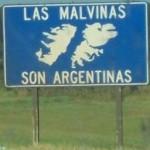 Cartel de Las Malvinas son Argentinas