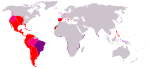 Extensión del Imperio Español